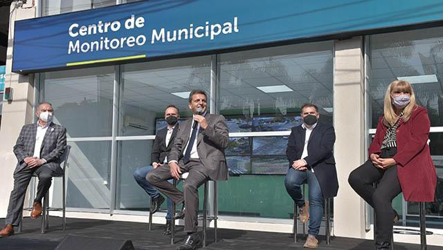 Inauguración del nuevo Centro de Monitoreo