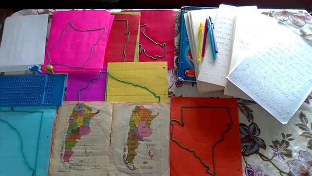 Internos de la cárcel de Ituzaingó elaboraron material didáctico en braille para una escuela de General Las Heras